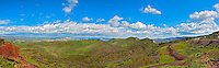 Ronald Reagan Presidential Library and Museum, Simi Valley California, Panorama View