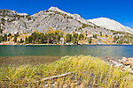 Long Lake under Mount Starr, John Muir Wilderness, Sierra Nevada Mountains, California