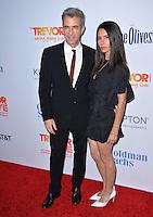BEVERLY HILLS, CA. December 4, 2016: Dermot Mulroney &amp; wife Tharita Cesaroni  at the 2016 TrevorLIVE LA Gala at the Beverly Hilton Hotel.<br /> Picture: Paul Smith/Featureflash/SilverHub 0208 004 5359/ 07711 972644 Editors@silverhubmedia.com