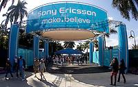 Crandon Park tennis Centre entrance, Key Biscane..International Tennis - 2010 ATP World Tour - Sony Ericsson Open - Crandon Park Tennis Center - Key Biscayne - Miami - Florida - USA - Wed 24 Mar 2010..© Frey - Amn Images, Level 1, Barry House, 20-22 Worple Road, London, SW19 4DH, UK .Tel - +44 20 8947 0100.Fax -+44 20 8947 0117