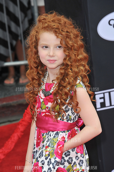 Francesca Capaldi at the world premiere of Disney's &quot;Planes: Fire &amp; Rescue&quot; at the El Capitan Theatre, Hollywood.<br /> July 15, 2014  Los Angeles, CA<br /> Picture: Paul Smith / Featureflash