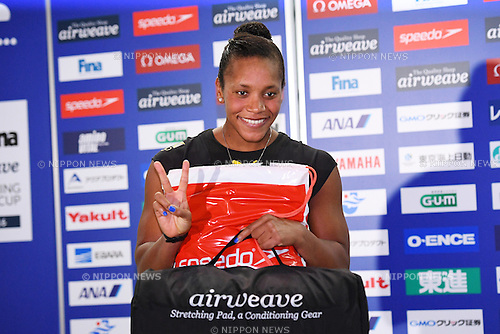 Alia Atkinson (JAM), <br /> OCTOBER 26, 2016 - Swimming : FINA Swimming World Cup Tokyo <br /> Award Ceremony <br /> at Tatsumi International Swimming Pool, Tokyo, Japan. <br /> (Photo by AFLO SPORT)