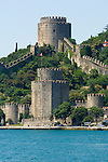 The Rumeli Fort on the Bosporus Sea, Istanbul, Turkey