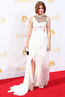 LOS ANGELES, CA, USA - AUGUST 25: Actress Kate Mara arrives at the 66th Annual Primetime Emmy Awards held at Nokia Theatre L.A. Live on August 25, 2014 in Los Angeles, California, United States. (Photo by Celebrity Monitor)