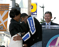Angela Bassett & Laurence Fishburne.Angela Bassett Receives a Star on the Hollywood Walk of Fame.Hollywood Boulevard.Los Angeles, CA.March 20, 2008.©2008 Kathy Hutchins / Hutchins Photo