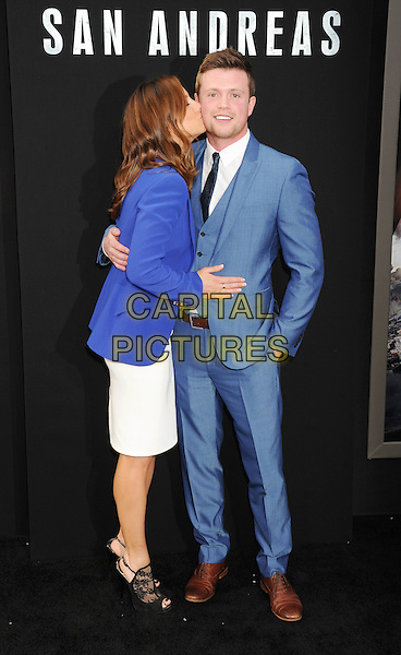 San andreas los angeles premiere arrivals capital for A t the salon johnstone