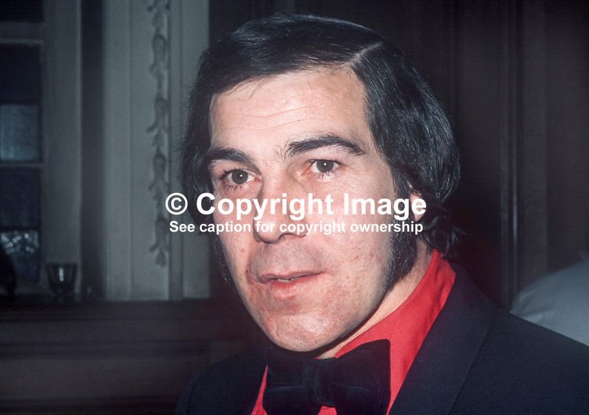 Hugh Smyth, Independent Loyalist, Assemblyman, West Belfast, N Ireland, February, 1975, 197502000094<br />