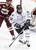(Matheson) Paul de Jersey (PC - 13) - The Providence College Friars tied the visiting Boston College Eagles 3-3 on Friday, December 7, 2012, at Schneider Arena in Providence, Rhode Island.