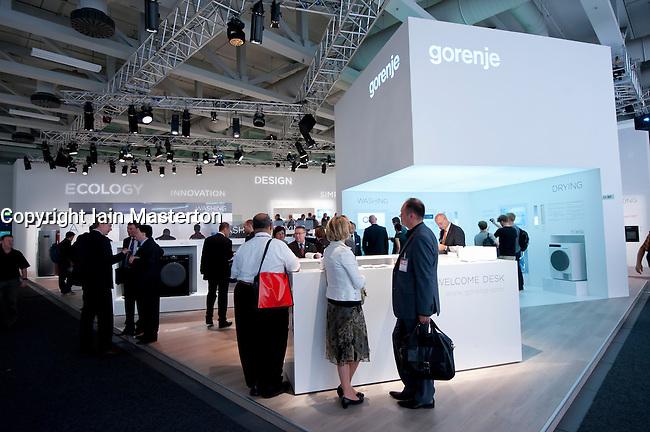Gorenje consumer goods manufacturer stand at IFA consumer ...