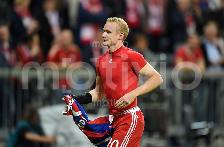 Fussball  1. Bundesliga  Saison 2014/2015   1. SPIELTAG FC Bayern Muenchen - VfL Wolfsburg       22.08.2014 Sebastian Rode (FC Bayern Muenchen)