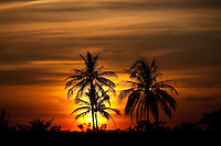January 6th, 2009_KOH KONG, CAMBODIA_ The sun sets in Cambodia's Koh Kong province.  Koh Kong is in the south west of Cambodia and boarders Thailand.  Photographer: Daniel J. Groshong/Tayo Photo Group