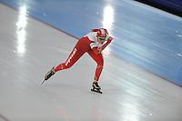 SCHAATSEN: GRONINGEN: Sportcentrum Kardinge, 17-01-2015, KPN NK Sprint, Lotte van Beek, ©foto Martin de Jong
