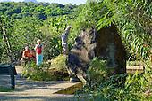 chemin canaque, centre culturel Tjibaou
