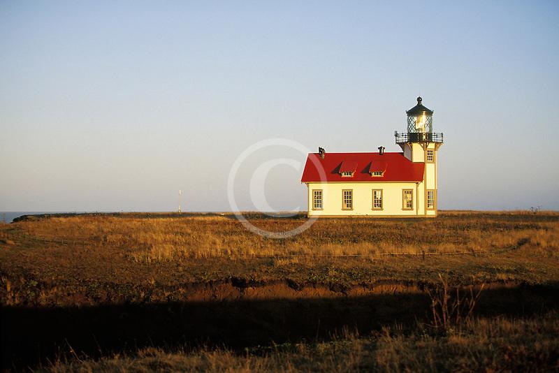 California, Mendocino County, Point Cabrillo Lighthouse