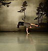 Zero Visibility corp. ... it's only a rehearsal <br /> at Sadler's Wells, London, Great Britain <br /> press photocall<br /> 11th November 2014 <br /> <br /> Dimitri Jourde <br /> <br /> <br /> part of Sadler's Wells' Northern Light season celebrating Nordic dance. <br /> <br /> Photograph by Elliott Franks <br /> Image licensed to Elliott Franks Photography Services