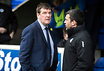 St Johnstone v Dundee&hellip;11.03.17     SPFL    McDiarmid Park<br />Tommy Wright and Callum Davidson<br />Picture by Graeme Hart.<br />Copyright Perthshire Picture Agency<br />Tel: 01738 623350  Mobile: 07990 594431