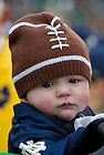 Nov. 3, 2012; Young fan at the game against Pittsburgh. Photo by Barbara Johnston/University of Notre Dame