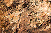 Multi-coloured layers of Mereenie sandstone at King's Canyon, Northern Territory, Australia
