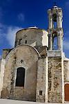 Ancient orthodox church Timios Stavros in Parekklisia, Cyprus