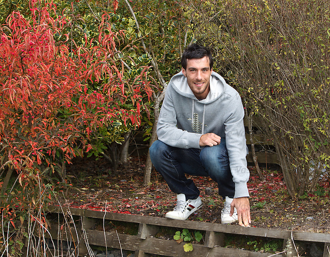Manuel Pascali at Glasgow Science Park after Kilmarnock training