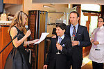 Alex's elegant Bar Mitzvah lunch on the Hudson River waterfront at the Half Moon restaurant in Dobbs Ferry, New York