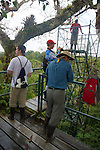 SBSJ Group Viewing From Canopy Tower, Tiputini