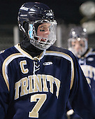 Michael Flynn (Trinity - 7) - The Williams College Ephs defeated the Trinity College Bantams 4-2 (EN) on Tuesday, January 7, 2014, at Fenway Park in Boston, Massachusetts.