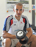 Caversham, Great Britain,  Photoshoot GBR Athlete Mohamed [Mo] SBIHI.  GB Rowing Training centre. Tuesday  29/05/2012 . . [Mandatory Credit. Peter Spurrier/Intersport Images]