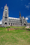 Americas, South America, Ecuador, Quito. The Basilica del Voto Nacional, construction began in 1892 and is still underway.