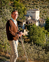 Dr Rodney Lokaj has lovingly and intuitively restored the 14th century Watch-tower at Poreta Castle, Spoleto, Umbria, now listed with the National Trust of Italy for it's artistic, cultural and architectural value.