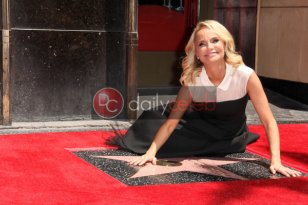 Kristen Chenowith<br /> at the Kristen Chenowith Star on the Hollywood Walk of Fame ceremony, Hollywood, CA 07-24-15<br /> David Edwards/DailyCeleb.com 818-249-4998