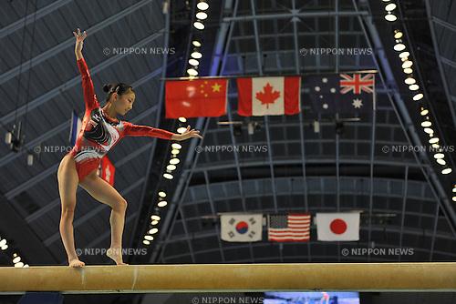 Asuka Teramoto (JPN), JULY 2, 2011 - Artistic Gymnastics : JAPAN CUP 2011 at Tokyo Metropolitan gymnasium, Tokyo, Japan. (Photo by Atsushi Tomura/AFLO SPORT) [1035]