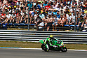 June 26, 2010 - Assen, Holland - Andrea Iannone powers his bike during the Dutch Grand Prix at Assen, Holland, on June 26, 2010. (Photo Andrew Northcott/Nippon News)..