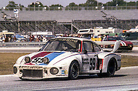 #99 Porsche 935 of Rolf Stommelen, Toine Hezemans, and Peter Gregg, winning car, 1978 24 Hours of Daytona, Daytona International Speedway, Daytona Beach, FL, February 5, 1978.  (Photo by Brian Cleary/www.bcpix.com)