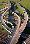 Aerial view I-664 at Newport News, VA