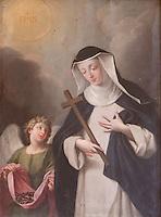 Sainte Agnes de Jesus, Langeac, Haute Loire, France
