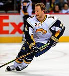 20 December 2008: Buffalo Sabres' center Adam Mair warms up prior to facing the Montreal Canadiens at the Bell Centre in Montreal, Quebec, Canada. With both teams coming off wins, the Canadiens extended their winning streak by defeating the Sabres 4-3 in overtime. ***** Editorial Sales Only ***** Mandatory Photo Credit: Ed Wolfstein Photo