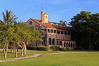 The main house at the Charles Deering Estate at Cutler, Miami, Florida.