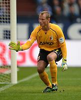 FUSSBALL   1. BUNDESLIGA   SAISON 2013/2014   8. SPIELTAG FC Schalke 04 - FC Augsburg                                05.10.2013 Torwart Alexander Manninger (FC Augsburg)