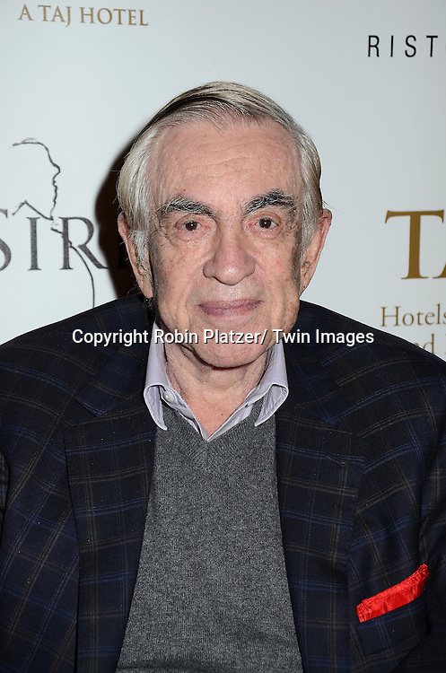Marty Bregman attends the Sirio Ristorante New York opening in the Pierre Hotel, a TAJ Hotel on October 24, 2012 in New York City. Sirio Maccioni hosted the party