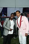 Kevin Hart and Johnny Nunez Attend The 2nd Annual Compound Foundation Benefit Honoring Academy Award-Winning Actor Louis Gossett, JR, Celebrity Photographer Johnny Nunez, Cartoon Network President & COO Stuart C. Snyder hosted by Ne-Yo and Kevin Hart Held at Private Location in East Hamptons, NY