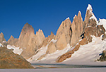 Cerro Torre Group and Fitz Roy, Los Glaciares National park, Argentina