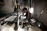 Ikat weaving in Kotpad, Orissa, India<br />