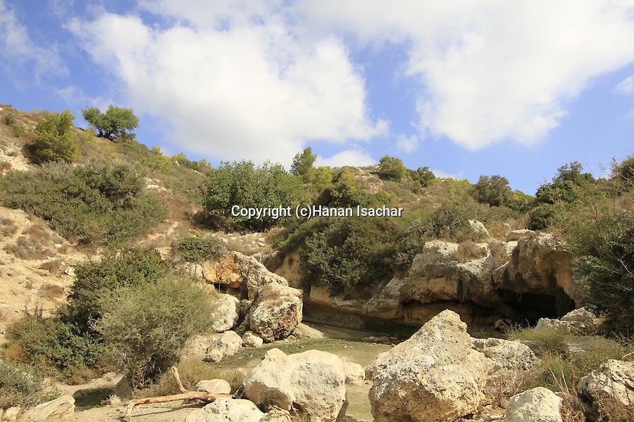 Israel, Carmel, Ein Kedem in Nahal Neder