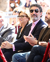 HOLLYWOOD, LOS ANGELES, CA, USA - OCTOBER 29: Chuck Lorre at the ceremony honoring Kaley Cuoco with a star in the Hollywood Walk Of Fame on October 29, 2014 in Hollywood, Los Angeles, California, United States. (Photo by Xavier Collin/Celebrity Monitor)