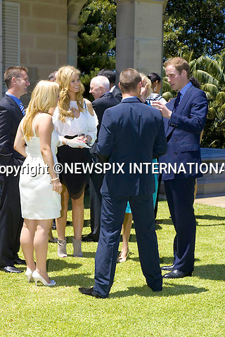 """PRINCE WILLIAM.Prince William on the first day of his tour in Australia..Prince William had lunch with the house of the Governor-General Quentin Bryce and her husband Michael Bryce. At the lunch William meet some Sydney residence and Ex-Neighbours star Delta Goodrem. Sydney, Australia_19/01/2010...Mandatory Credit Photo: ©DIAS-NEWSPIX INTERNATIONAL..**ALL FEES PAYABLE TO: """"NEWSPIX INTERNATIONAL""""**..IMMEDIATE CONFIRMATION OF USAGE REQUIRED:.Newspix International, 31 Chinnery Hill, Bishop's Stortford, ENGLAND CM23 3PS.Tel:+441279 324672  ; Fax: +441279656877.Mobile:  07775681153.e-mail: info@newspixinternational.co.uk"""