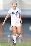 24 August 2012: Duke's Kara Wilson. The Duke University Blue Devils defeated the University of Montreal Caribins 4-1 at Fetzer Field in Chapel Hill, North Carolina in an international women's collegiate friendly game.