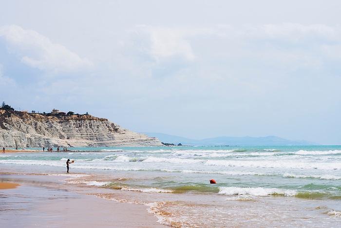 Realmonte Italy  city photos gallery : Scala Dei Turchi Beach Rossello Cape Realmonte Agrigento Sicily | HD ...