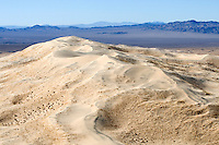 Kelso Dunes in the Mojave Desert, California.