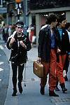 Punk New Romantics Kings Road Chelsea London England  circa 1985